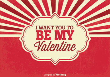 Valentine's Day Background - vector #349009 gratis