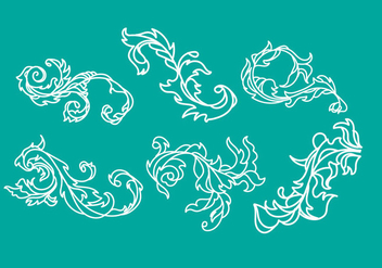 Free Arabesco Illustration Vector - Free vector #349729