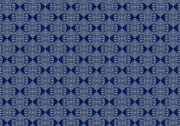 Floral Pattern Vector - Free vector #349789