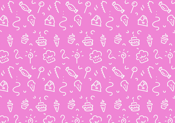 Free Dessert Patterns Vector - vector gratuit #350049