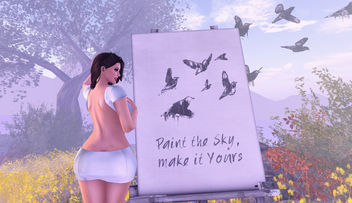 I Always Wanted To Paint The Sky - image #351459 gratis