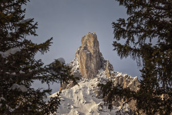 The big Tower in Montafon - image #351539 gratis