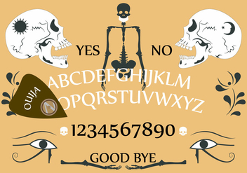 Ouija Board in Vector - vector gratuit #351749
