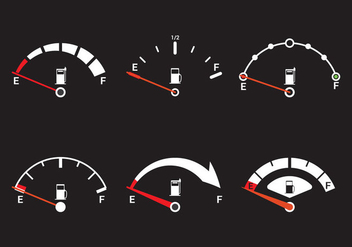 Fuel Gauge Vector - Free vector #352069