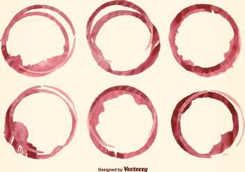 Wine Stain Vector - Free vector #352299