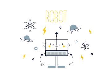 Free Robot Vector - Free vector #352529