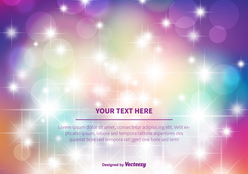 Beautiful Sparkle Vector Abstract Background - Free vector #352729