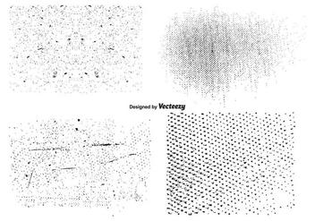 Vector Grunge Texture Set - Kostenloses vector #352749