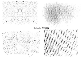 Vector Grunge Texture Set - Free vector #352749