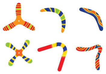 Boomerang Vectors - бесплатный vector #352849