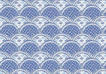 Batik Modern Vector - Kostenloses vector #353429