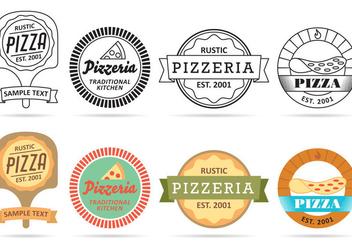 Pizza Logo Vectors - Free vector #353699