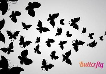 Free Butterflies Vector - vector #353839 gratis