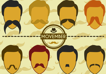 Free Movember Vector - Free vector #355149