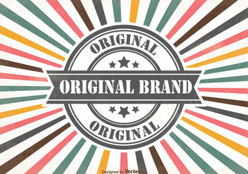 Promotional Sales Retro Background - Free vector #355449