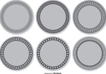 Blank Vector Label Set - Free vector #355479