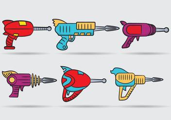 Laser Gun Vector - Free vector #355699