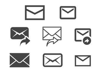 FREE MESSAGE ICON VECTOR - vector #355969 gratis