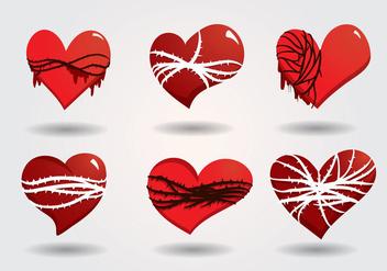 Sacred Heart Vector - vector gratuit #356079