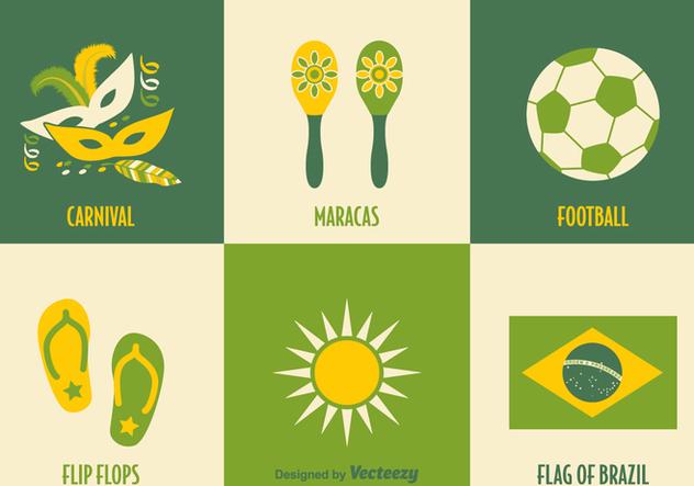 Free Brazil Vector Icons - vector gratuit(e) #356179
