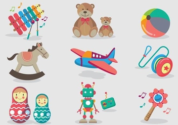 Memorable Toys Vector - Free vector #356699
