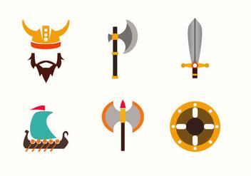 Viking Symbols Vector - vector gratuit #356899