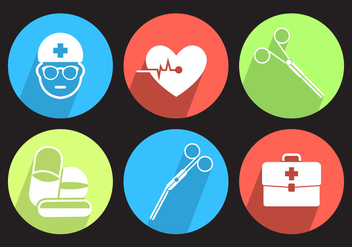 Medical Vector Icons - Free vector #356959
