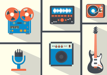 Vector Musical Instruments - Free vector #357049