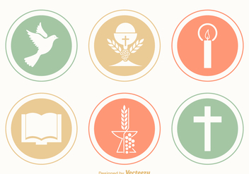 Free Communion Vector Icons - Free vector #357959