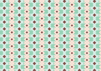 Rustic Geometric Pattern - Free vector #357989