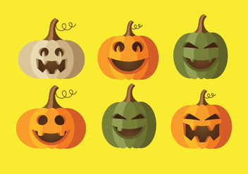 Pumkin Patch Vector - Free vector #358229