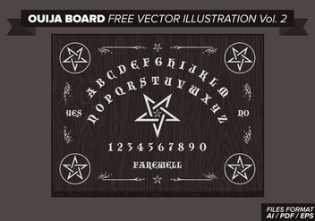 Ouija Board Free Vector Illustration Vol. 2 - Kostenloses vector #358279