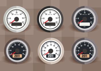Tachometer Vector - vector #359319 gratis