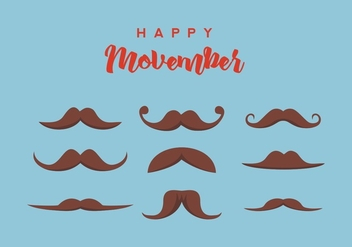 FREE MOVEMBER VECTOR - Free vector #359329