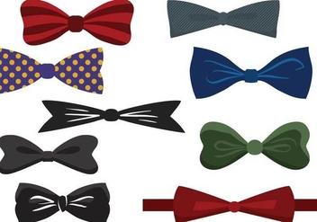 Free Bow Tie Vectors - Kostenloses vector #359949
