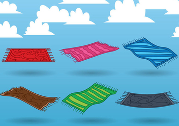 Magic Carpet Vector - Free vector #360229