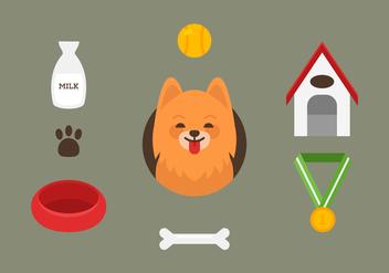 Vector Pomeranian - Free vector #360419