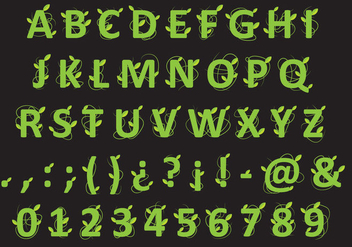 Beanstalk Type - Free vector #360679