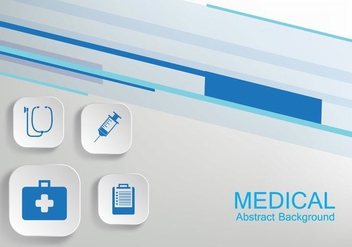 Medical Background Vector - Free vector #360959