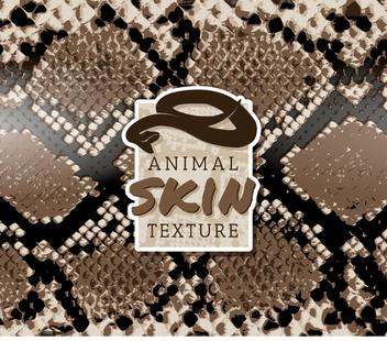Snake skin pattern - Free vector #361449