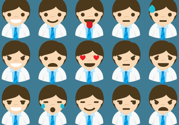 Doctor Emoticons - vector #361509 gratis