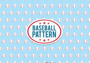 Baseball Pattern Vector - Free vector #361669