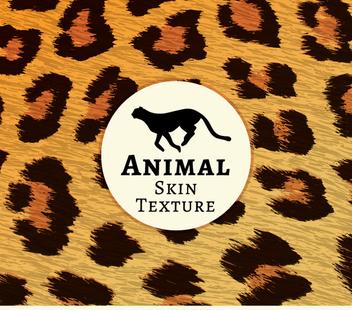 Realistic leopard fur texture - бесплатный vector #361729