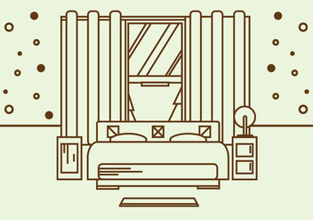 Free Mattress Illustration Vector - бесплатный vector #361859