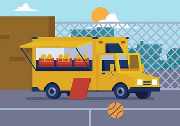 Vector Food Truck - бесплатный vector #362139