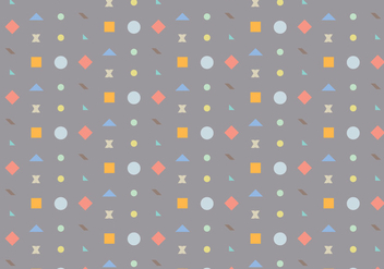 Geometric Shape Pattern - vector gratuit #362269