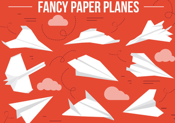 Free Paper Planes Vector - Free vector #362449