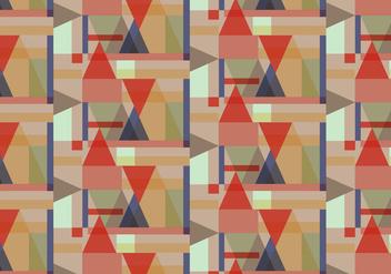Pastel Geometric Pattern - vector gratuit #362899