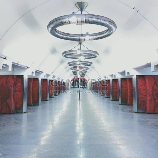 Intérieur de la station de métro - image gratuit(e) #363709