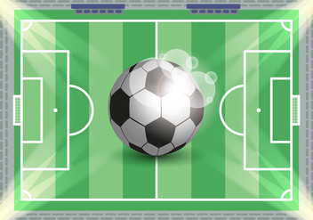 Football Soccer Illustration Vector - Kostenloses vector #363809